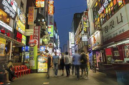 Nightlife Itaewon Seoul