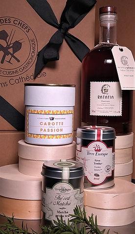 Coffret cadeau_confiture carotte-passion