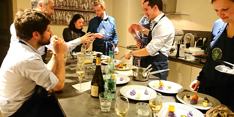 Atelier de 3 heures Réalisation de 6 Plats gastronomiques de fêtes suivi d'un repas avec vins et champagnes en accord