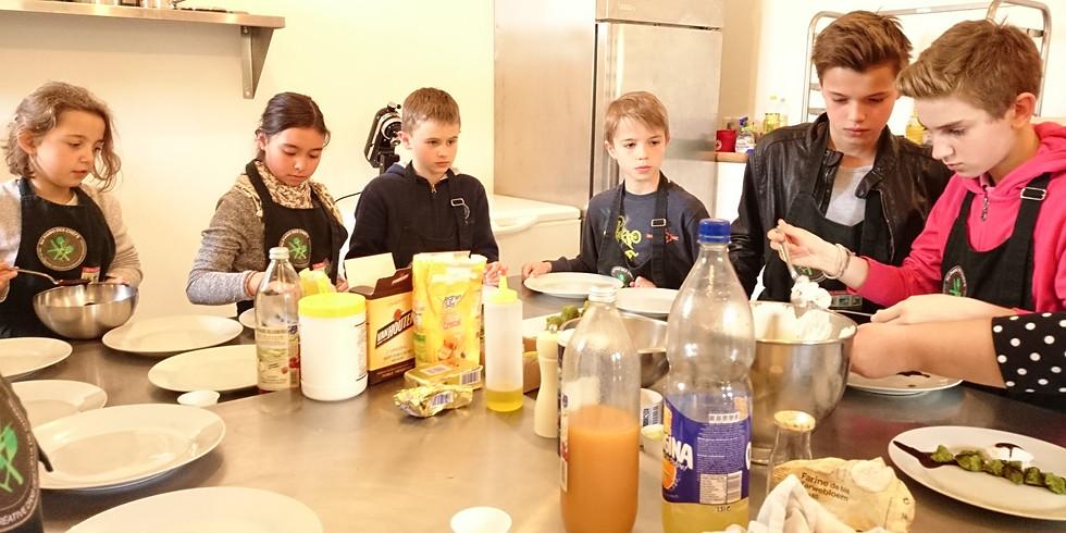 Atelier enfants de 1h30 Je fais mes gnocchis à la sauce parmesan