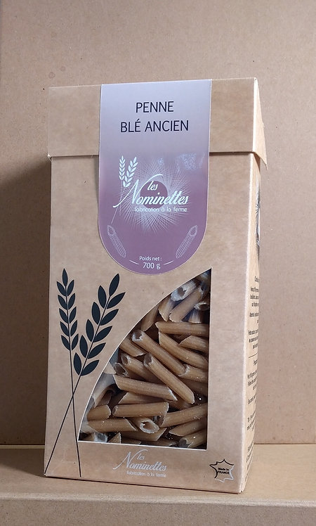 Pâtes Penne Blé ancien