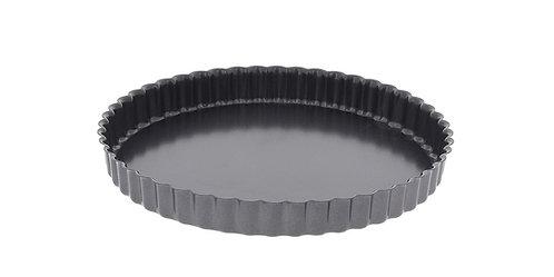 Moule à tarte cannelé / Tourtière à fond amovible Diam 28cm Ref 4706.28