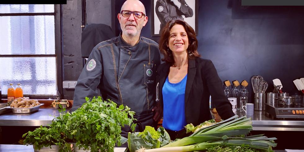Atelier Cuisiner Santé avec Emmanuelle Augé Davesne de CIRCADIE