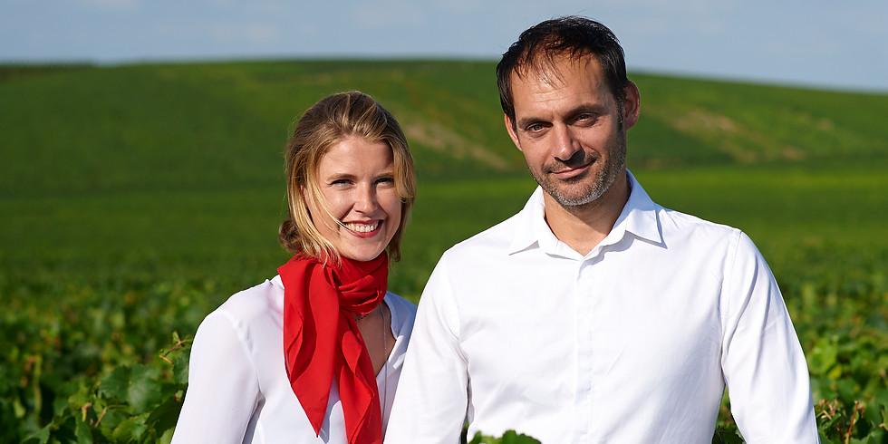 Atelier gastronomique et oenologique sur les Champagnes Lucien Roguet