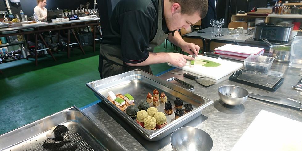 Atelier COMPLET Mise-en-bouche gastronomique et dressage