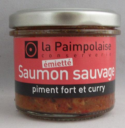 Saumon sauvage piment fort et curry