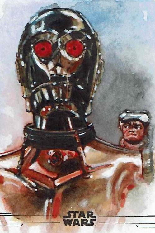 C3PO & Babu Frik - The Rise of Skywalker Series 2