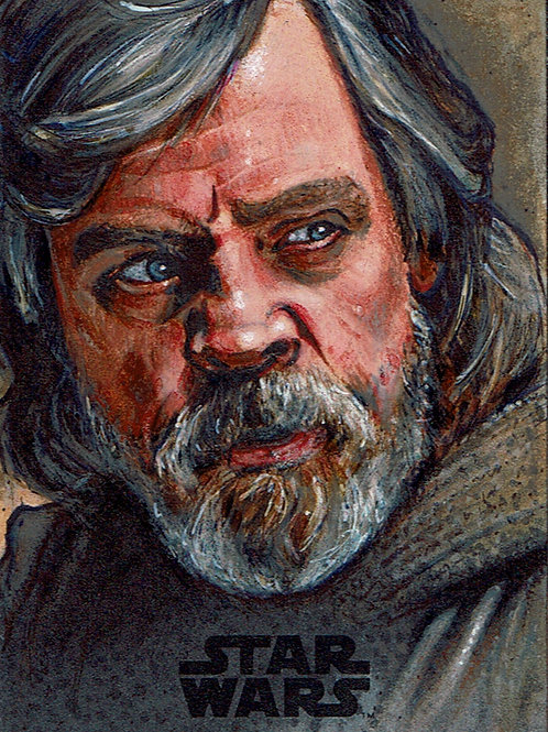 Luke Skywalker - The Last Jedi Series 2 AP