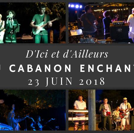 Retour en images du concert au Cabanon enchanté