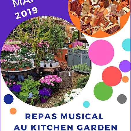 Repas musical au Kitchen Garden