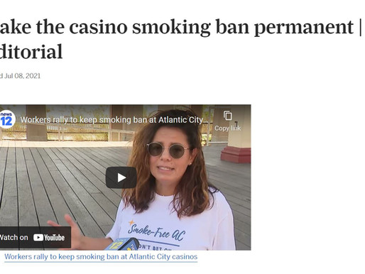 #TobaccoFreeNJ News