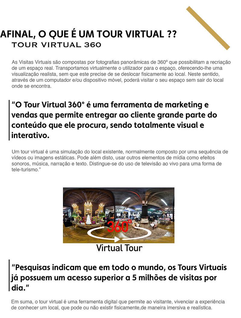 Afinal o que é a Tour Virtual ?? Definição de Tour Virtual 360º