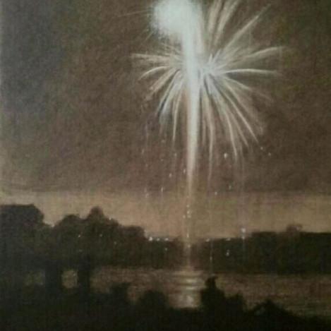 Fireworks over Big Timber