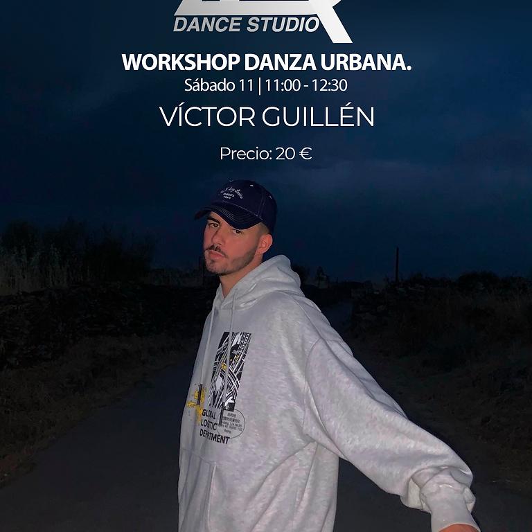 Workshop danza urbana Víctor Guillén.