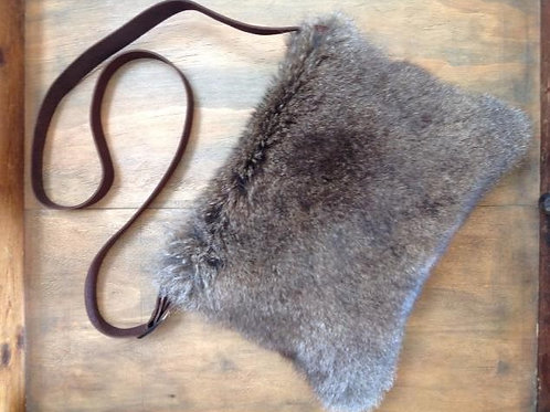 WALLABY FUR LIGHT AS A FEATHER BAG