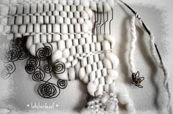Edelweiss et fil de fer