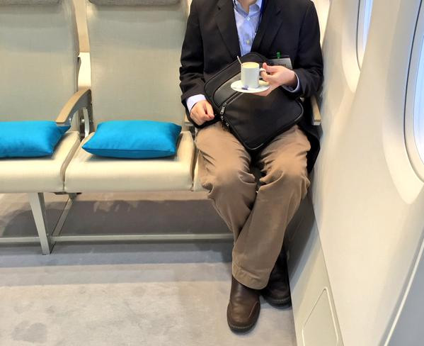 Seats smaller on new Airbus A380