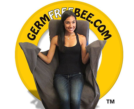 Germ Free Bee Airplane Seat Cover