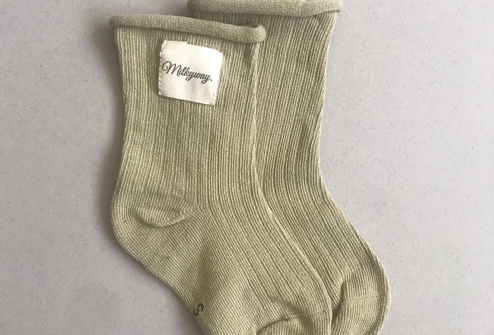 Milkyway Socks - Olive