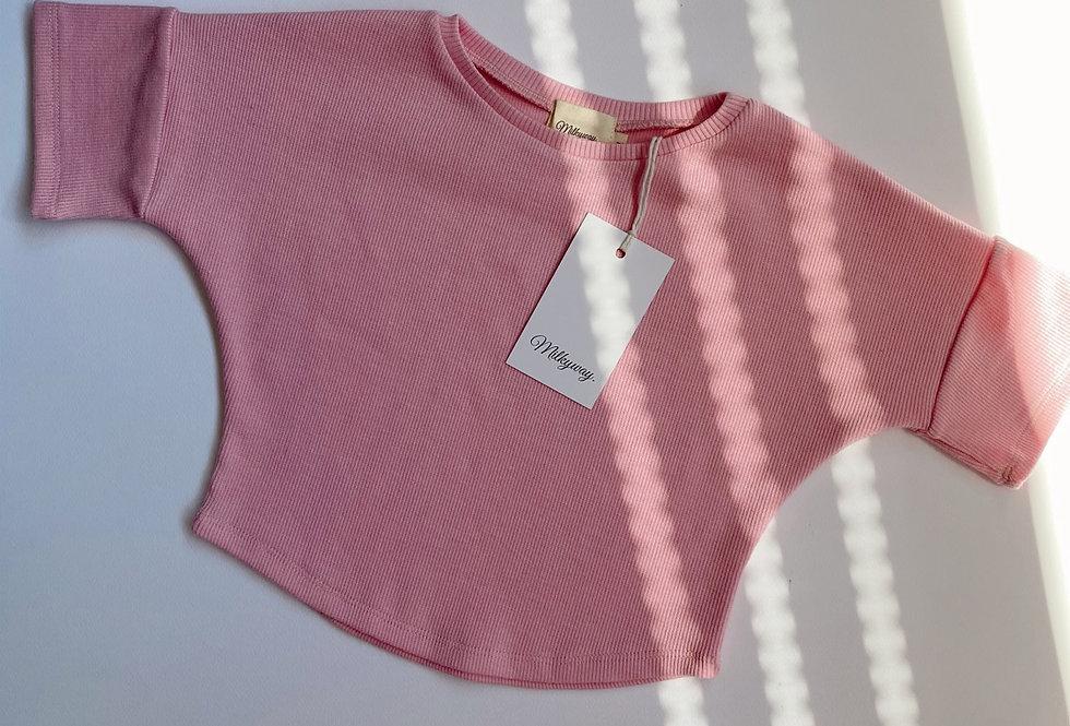 Ribbed T-shirt - Sui
