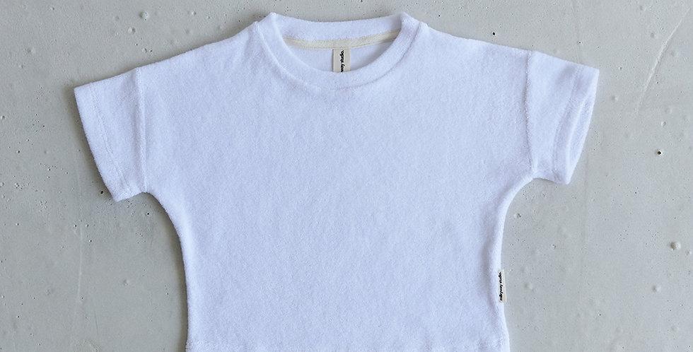 Terry T-shirt - Vanilla