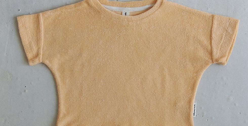 Terry T-shirt - Pale Orange