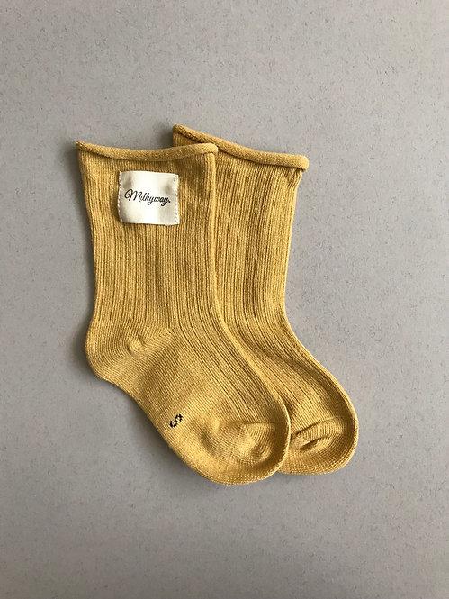 Milkyway Socks -Mustard