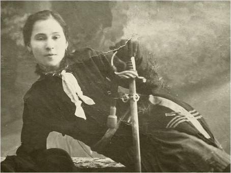 1917: Romania's First Female Second Lieutenant [1]