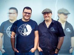 Sebastien Bedrunes et Terence Briand / son