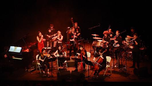 Wanderlust orchestra au Théâtre des Pénitents