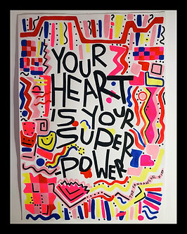 Your heart is your superpower