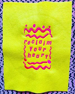 Reclaim Your Heart (yellow)
