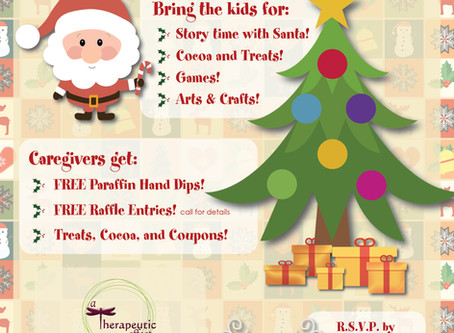 Join us for Saturday with Santa!