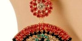 Crystal Eye Earrings