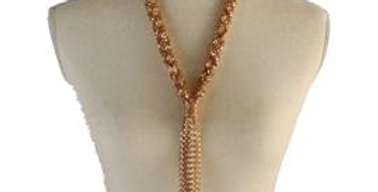 Long Gold Necklace