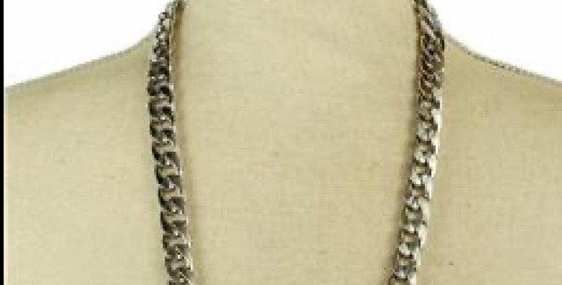 Silver Drip Necklace