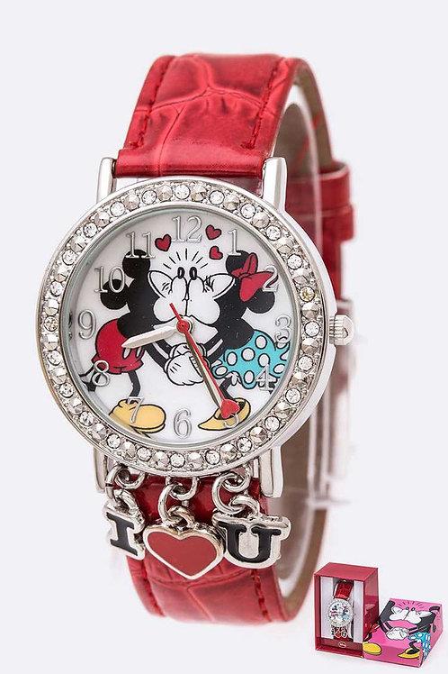 I Love U Minnie & Mickey