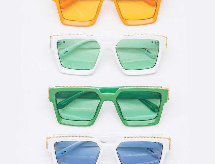 Box Framed Sunglasses