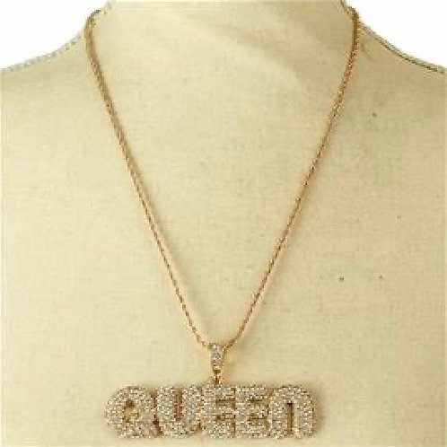 Studded Queen Necklace