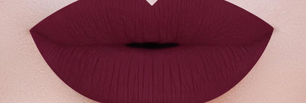 Kiss Me Ruby Red Matte Lip Gloss