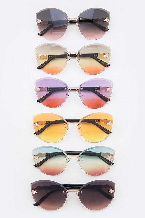 Crystal Clear Sunglasses