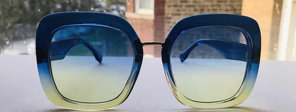 Blue Berry Lemon Sunglasses