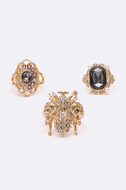 All 3 Gold Bubble Bee