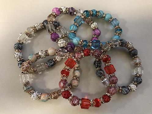 Beaded Jewel Bracelet