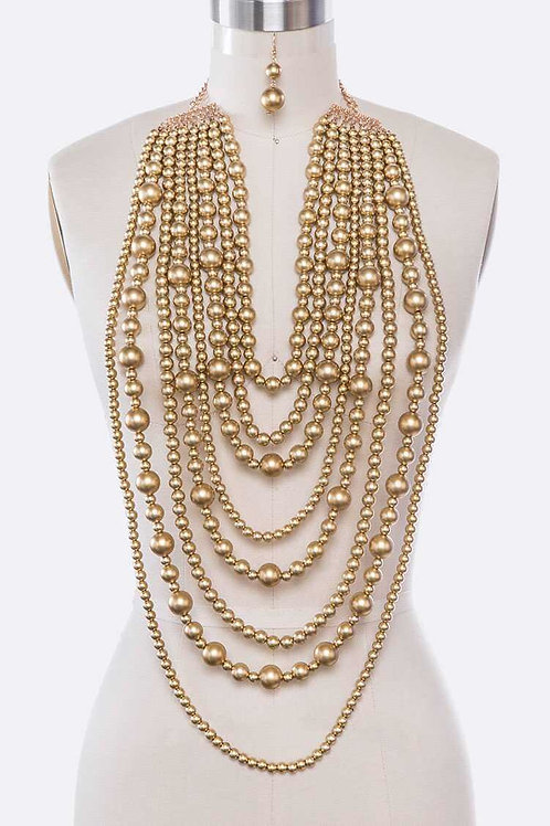 Queen of Pearls Necklace