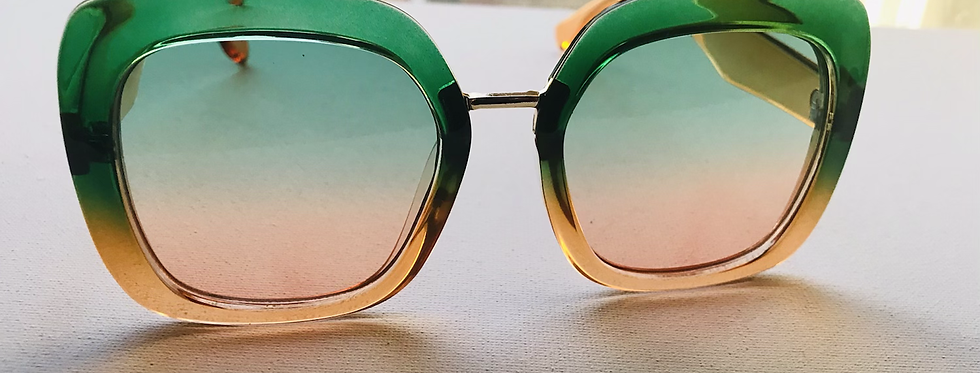 Lime and Tangerine Sunglasses