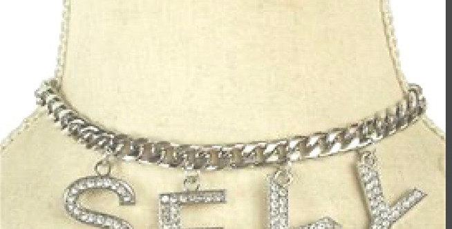 Silver Sexy Chocker Chain