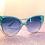 Thumbnail: Clear Cat Eye Sunglasses