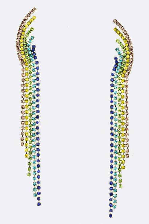 Rainbow Dazzle Earrings