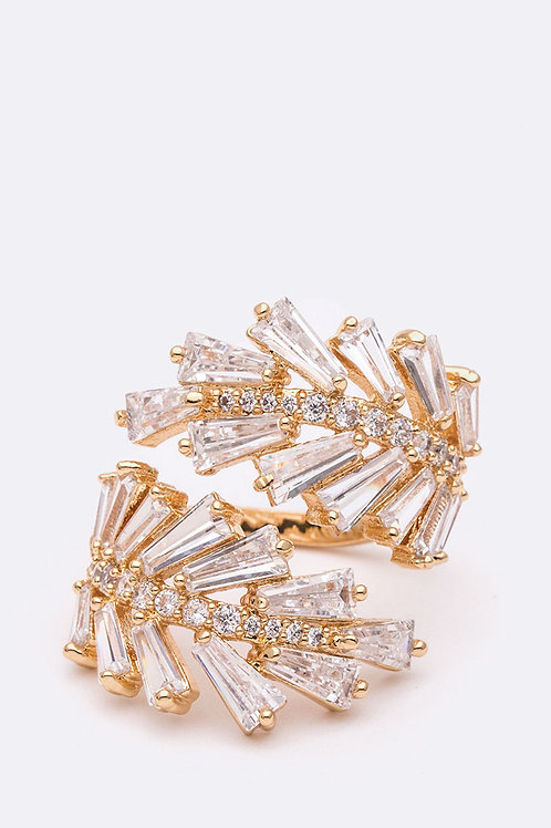 Crystal Wrap Ring